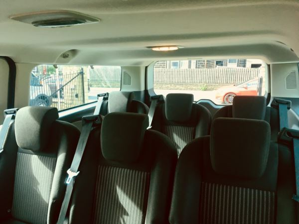 2015 (15) Ford Tourneo T300 L2 125 Zetec 9 Seat Minibus For Sale In Colne, Lancashire