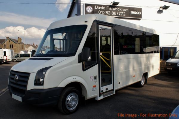 2007 (57) Volkswagen Crafter UV Modular CR50 136 17 Seat Wheelchair Accessible PSV Bus For Sale In Colne, Lancashire