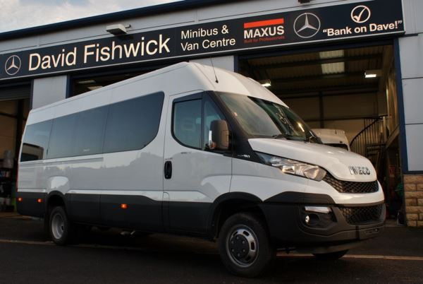 Iveco Daily 50C150 17 Seat Wheelchair Accessible Minicoach For Sale In Colne, Lancashire