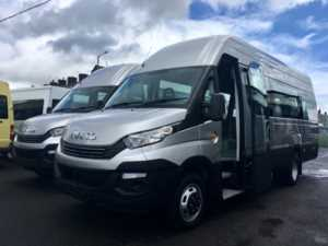 Iveco Daily 50-180 4100L / H3 Vendor Van 17 - 23 Seat Minicoach Conversions 4 Doors Minibus