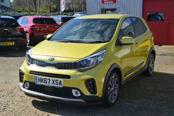 used kia picanto x line 5 doors hatchback for sale in gosport hampshire fine cars. Black Bedroom Furniture Sets. Home Design Ideas