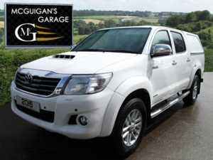 2015 (64) Toyota Hilux INVINCIBLE , 3.0 D-4D 171 , 4X4 , SAT NAV , CANOPY , PARK SENSORS For Sale In Swatragh, County Derry