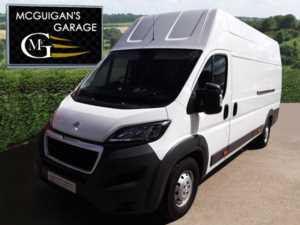 2016 (66) Peugeot Boxer 435 , L4 H3 , BlueHDi 130ps , ply lined For Sale In Swatragh, County Derry
