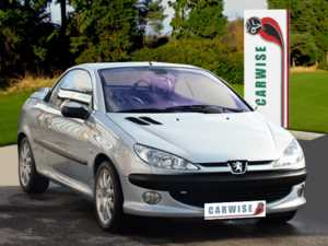 2002 (52) Peugeot 206 2.01.CC For Sale In Derby, Derbyshire