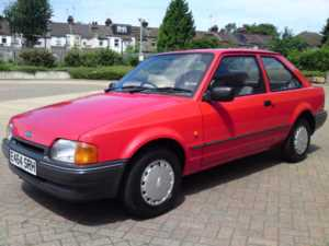 1987 (E) Ford Escort 1.4 L 3 DR ONE LADY OWNER FROM NEW / TOTALLY STUNNING / 30 YEARS OLD / For Sale In Watford, Hertfordshire