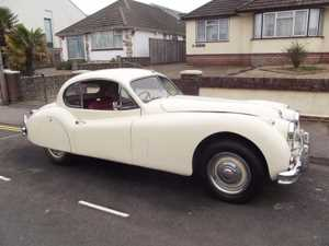 1956 (PP) Jaguar XK 140SE FIXED HEAD COUPE (manual with overdrive) For Sale In Poole, Dorset
